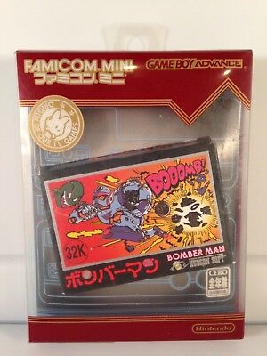 Famicom Mini BOMBERMAN Bomber Man *NTSC-JAPAN* Game Boy Advance GBA *Complete*