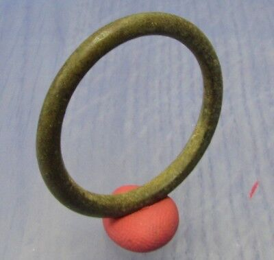 Ancient Bronze Celtic Ring Proto Money - BC  **LA TENE ** 500BC**