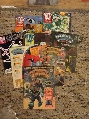 2000AD SCI-FI SPECIAL  x  8 issues