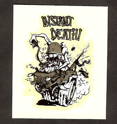 Old Original Rat Fink Ed Big Daddy Roth Decal 1960's