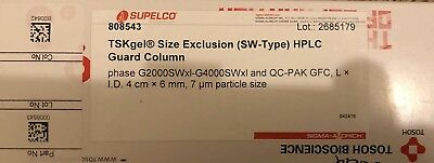 Tosoh Bioscience TSKgel Size Exclusion (SW-Type) HPLC Guard Column 8543