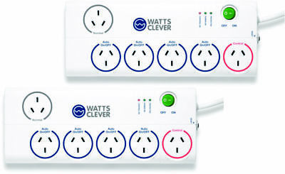 SALE Watts Clever - Energy Saving Power Board x2 SALE