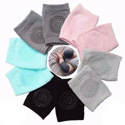 5Pairs Kids Crawling Elbow Cushion Infants Toddlers Baby Knee Pad protection NEW