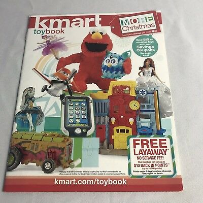 Kmart Toy Book Holiday Christmas Catalog 2013