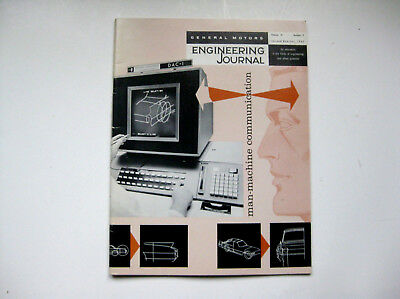 1965 GM General Motors ENGINEERING JOURNAL FUTURAMA New York Worlds Fair