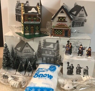 Dept 56 Dickens Village - The Spirit Of Giving - Start a Tradition Set 58327 MIB