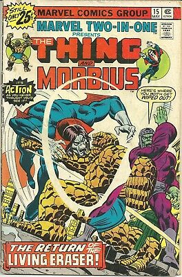 Lot of 10 Consecutive Bronze Age Marvel Two-In-One Comics Issue 15-24 1976-1977