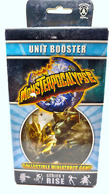 Monsterpocalypse Unit Booster Series 1 Rise new