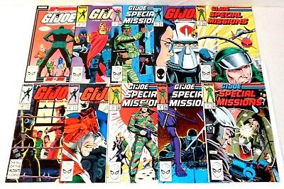 G,i, Joe Comic Book Lot Marvel Comics See More Great Lots On Auction (Cl54)