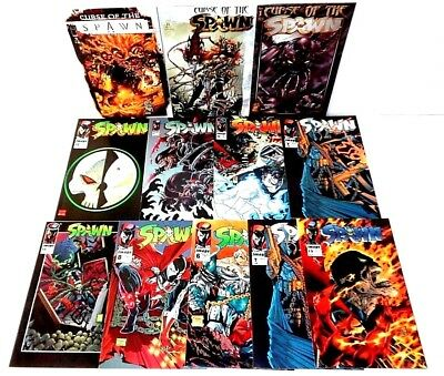 SPAWN COMIC BOOK LOT Image Comics Todd McFarlane GREAT AUCTION UNDERWAY (CL53)