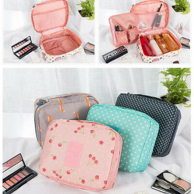 Makeup Travel Kit Cosmetic Bag Case Multifunction Pouch Toiletry Organizer Women