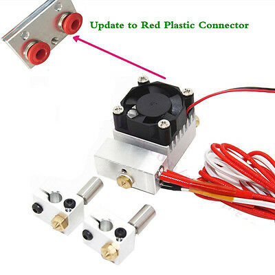 The Cyclops Hotend + Chimera Hot End Multi colors 2 Colors Bowden Extruder Kit