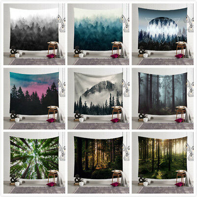 Stream Forest Tapestry Polyester Wall Hanging Dorm Home Decoration Drop Shipping