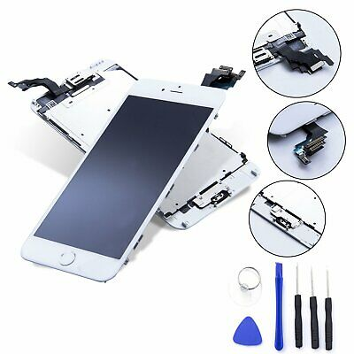 DISPLAY LCD iPhone 6 Plus Assemblato COMPLETO Fotocamera Altoparlante BIANCO