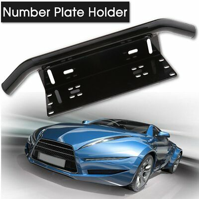 Car Truck License Plate Frame Number Plate Bull Bar Bumper Mount Bracket Auto