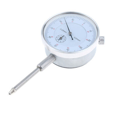 Precision Dial Test Indicator with Needle Point, Metric, 0-25mm