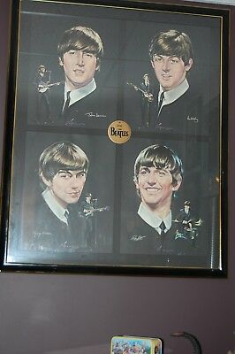 The Beatles 1964 Seltaeb Posters Professionally framed
