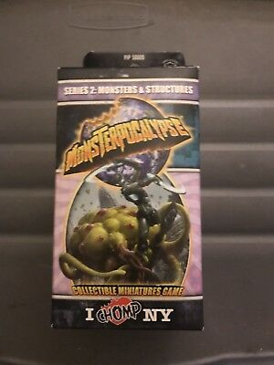 Monsterpocalypse I Chomp NY Series 2 Monsters and Structures Booster Pack