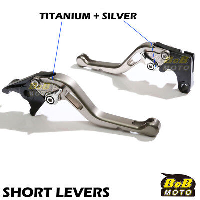 Fit Yamaha TMAX 530 XP500 15 16 Titanium Short CNC Brake Clutch Levers STS AU
