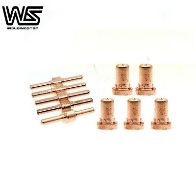 10pcs PT-31 LG40 Plasma Cutter Cosumable Kit FIT Rossi CT416 CT620is Cutter