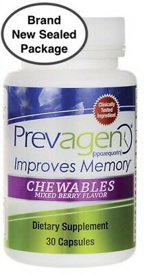 Prevagen Chewables Mixed Berry Flavor 30 Capsules