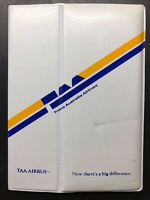 TAA (TRANS AUSTRALIA AIRLINES) address book / phone book, 1981 Airbus promotion