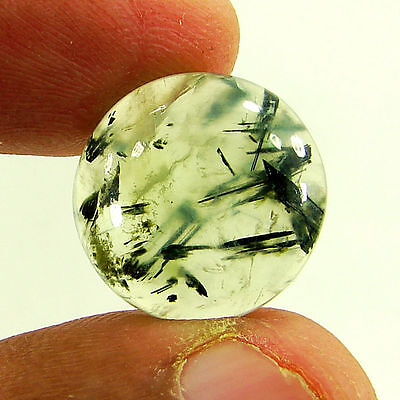 11.45 Ct Cabochon Natural Prehnite Loose Gemstone Stone - H 1773