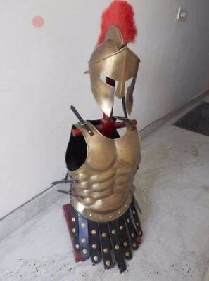 Medieval King Leonidas Helmet Roman Hm879 Spartan 300 Movie Helmet Halloween