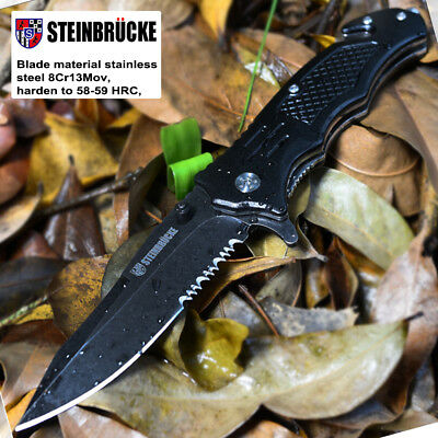 """8.2"""" STILETTO TAC FORCE MILANO Tactical SPRING ASSISTED FOLDING KNIFE Pocket"""