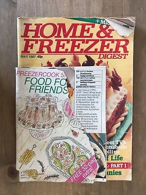Home & Freezer Digest, Magazine, May 1987, Simnel Cake, easter