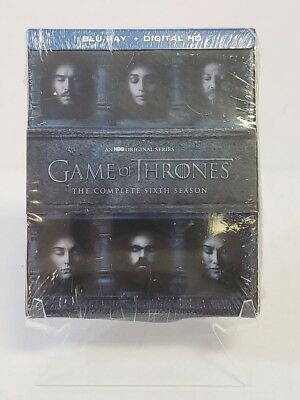 Game Of Thrones HBO Series The Complete Sixth Season 2016 DVD