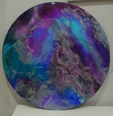Original Resin Artwork 60cm round