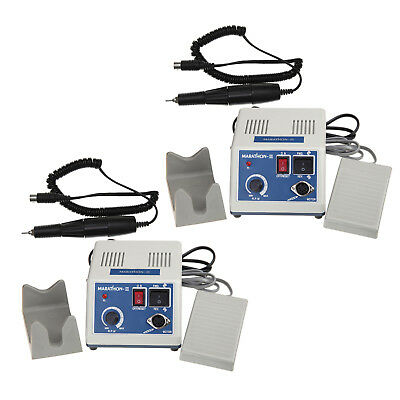 2pcs Dental Electric Micromotor Marathon Polisher 35KPM Polishing Handpiece Kits