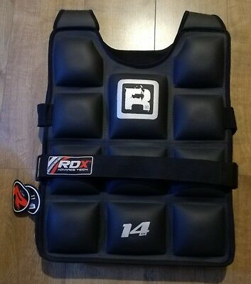 RDX WEIGHTED VEST , 14kg , BRAND NEW