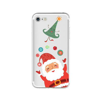 Christmas Series Pattern Phone Case Silicone iPhone Pattern Christmas