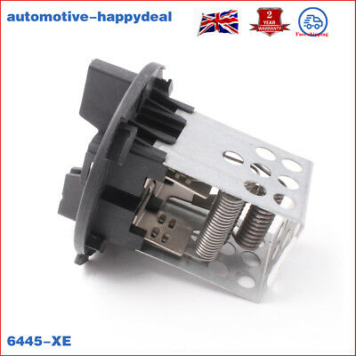 FIT Citroen C4 Peugeot 307 6445-XE HEATER BLOWER FAN RESISTOR New High quality