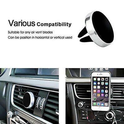 Magnetic Car Vehicle Holder Mobile Phone GPS Stand Bracket Air Vent Mount