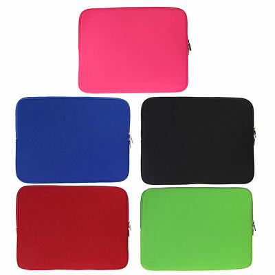 PC Laptop Zipper Soft Case Bag Cover Sleeve Pouch For Macbook Pro/Air Notebook