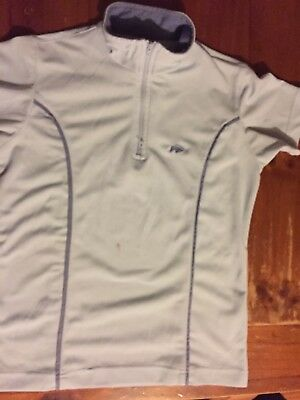 DUBLIN ~ Horse Pony Riding Zip Collar Top  ~Size XS ~ 5 KIDS CLOTHES = FREE POST