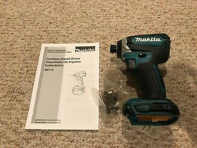 New Makita Brushless Cordless Impact Driver XDT13Z 18V Replaces XDT04 XDT08