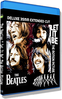 The Beatles Let It Be  Extended Cut  WS 37 additional min/more songs. HQ Blu-ray