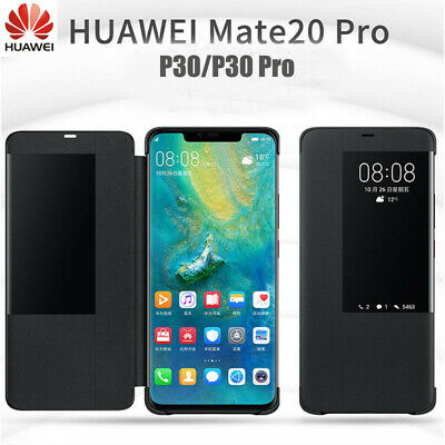 Huawei Mate 20&Mate 20 Pro Smart Window View Leather Flip Protection Cover Case