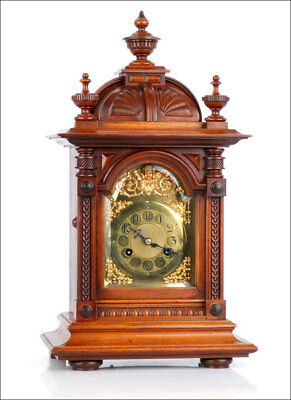 Antique Junghans Mantel Clock. Perfectly working. Germany, 1900