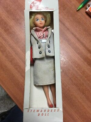 Rare Virgin Atlantic Stewardess Doll No Reserve Collectors