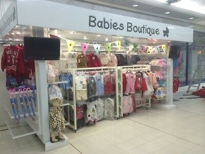 Baby Stall Shopping Centre Kiosk, RMU Babies Boutique. Retail Unit 4m Market