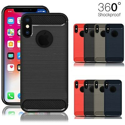 Shockproof Bumper Case Cover for iPhone 10 X 8 7 6s Se 5 Luxury Ultra Slim