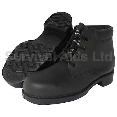 British Army Safety Conductive Boots, High Ankle