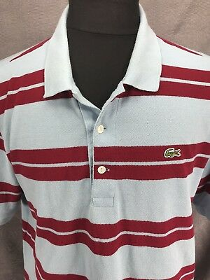 Shirt Anniversary Red Sleeve Short Polo Lacoste Mens 75th Cotton Y8qw5FxBR