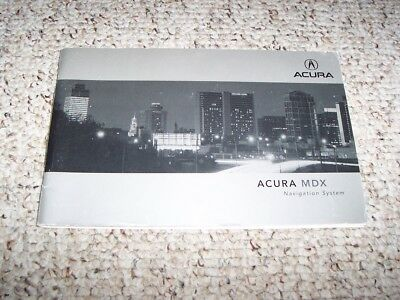2002 acura mdx owners manual