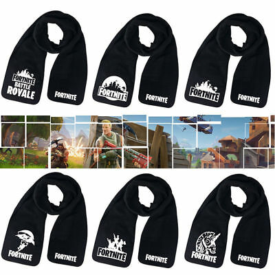 89bd8346b94a5 FORTNITE-BATTLE-ROYALE SCARF VIDEO GAME FORT-NITE-NIGHT Long Scarves XMAS